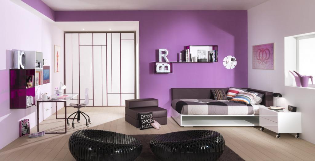 Kết quả hình ảnh cho sơn nhà màu violet
